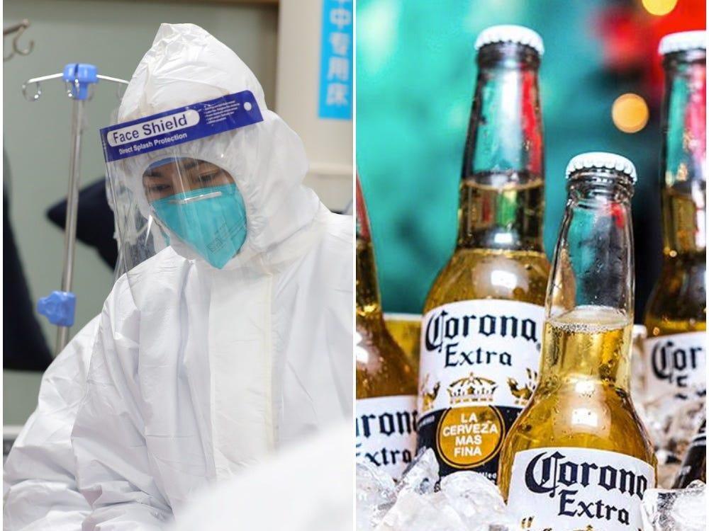 """Oamenii par să creadă că berea CORONA este legată de virusul mortal coronavirus, deoarece căutările pentru """"virusul berii Corona"""" sunt în creștere"""