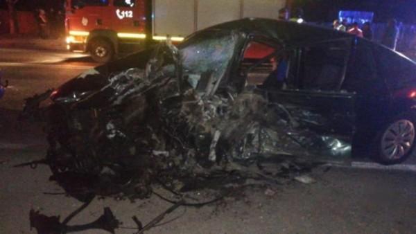 GRAV ACCIDENT in Prahova soldat cu 4 victime! 3 mașini distruse