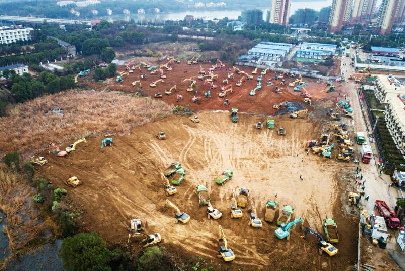 VIDEO: Un SPITAL doar pentru cazurile de CORONAVIRUS în CHINA! Vor să facă construcția in 6 zile!