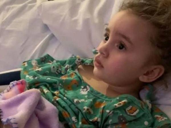O fetita de 4 ani a orbit din cauza gripei!