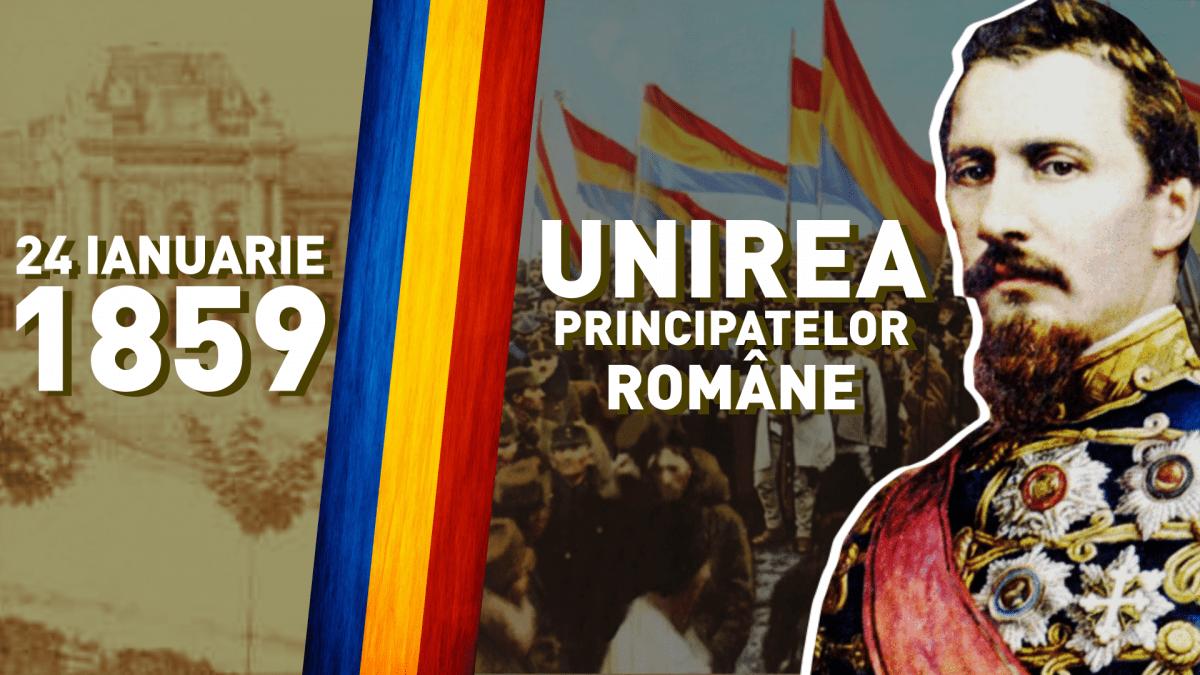 "Astăzi, sărbătorim ""Mica Unire"" – Unirea Principatelor Române! La mulți ani dragi Români!"