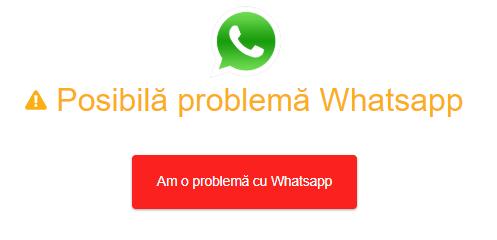 WhatsAPP ! Probleme de funcționare ! Nu se pot trimite poze, videoclipuri și orice tip de conținut multimedia