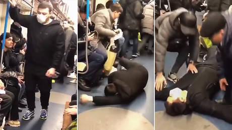 VIDEO: Blogger arestat după o glumă proastă despre coronavirus într-un metrou din Rusia în Moscova