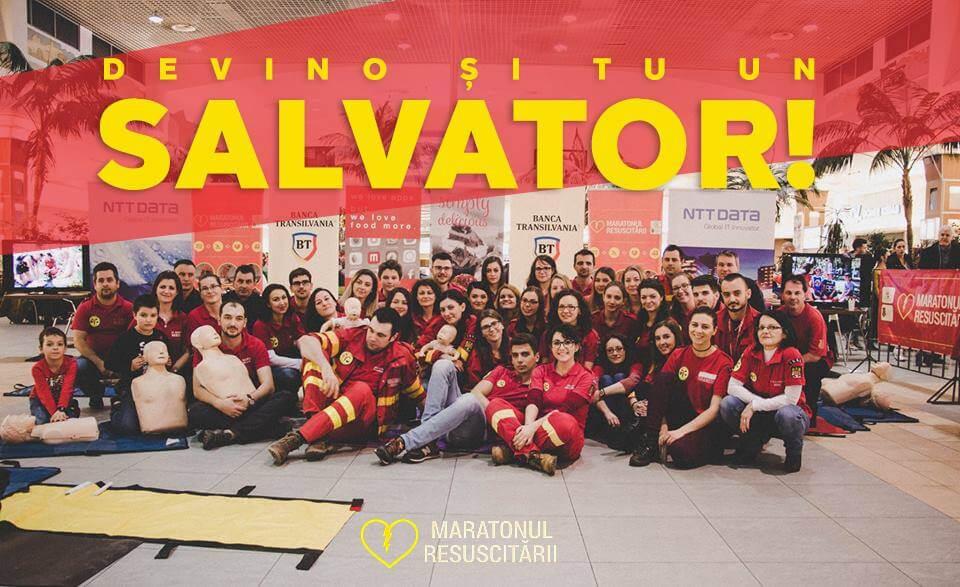 Maratonul  Resuscitării ajunge pe 29 Februarie la București! Ediția II