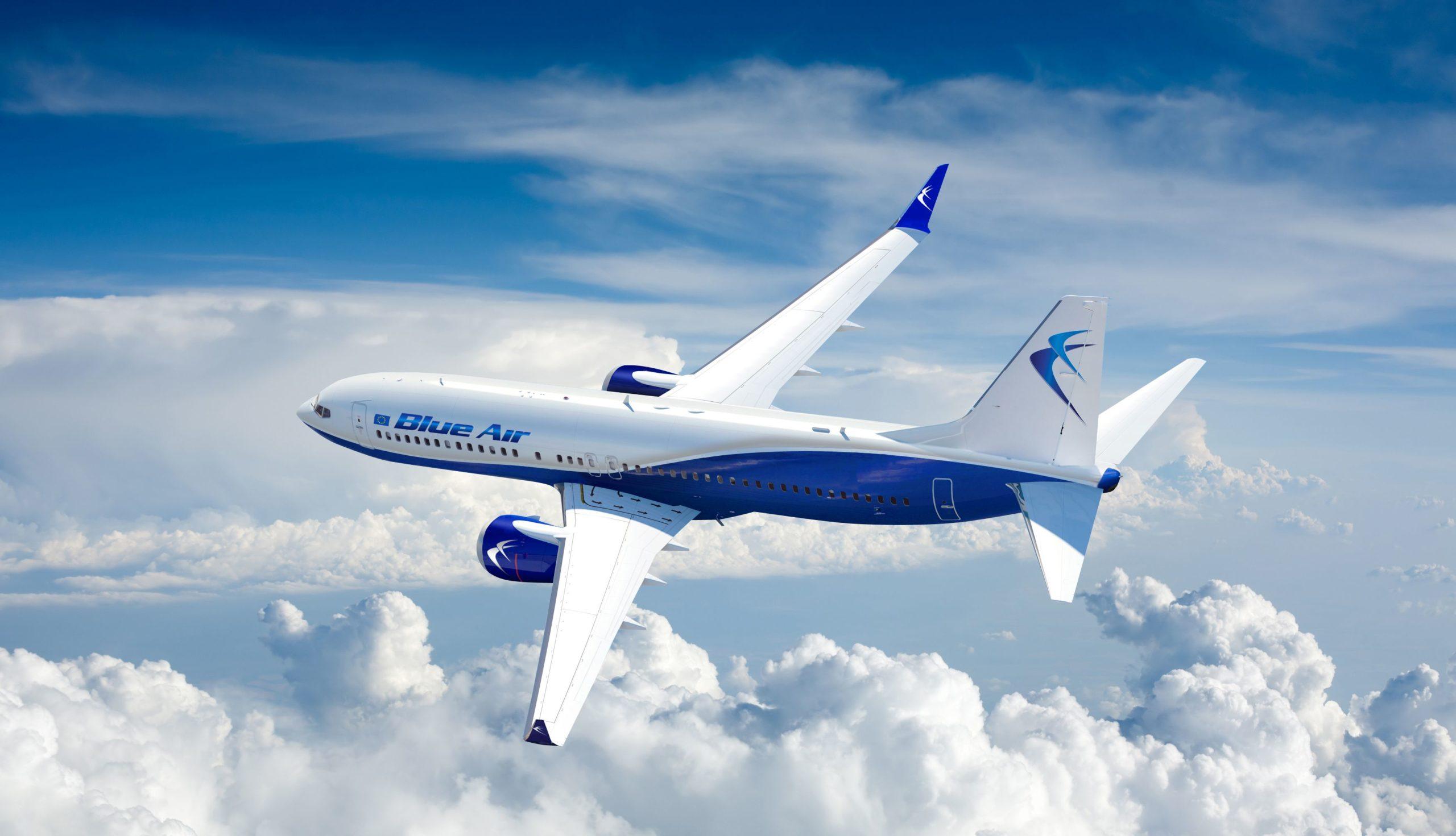 Blue Air transferă zborurile de pe aeroportul din Bacău, în perioada 15 august – 30 septembrie!
