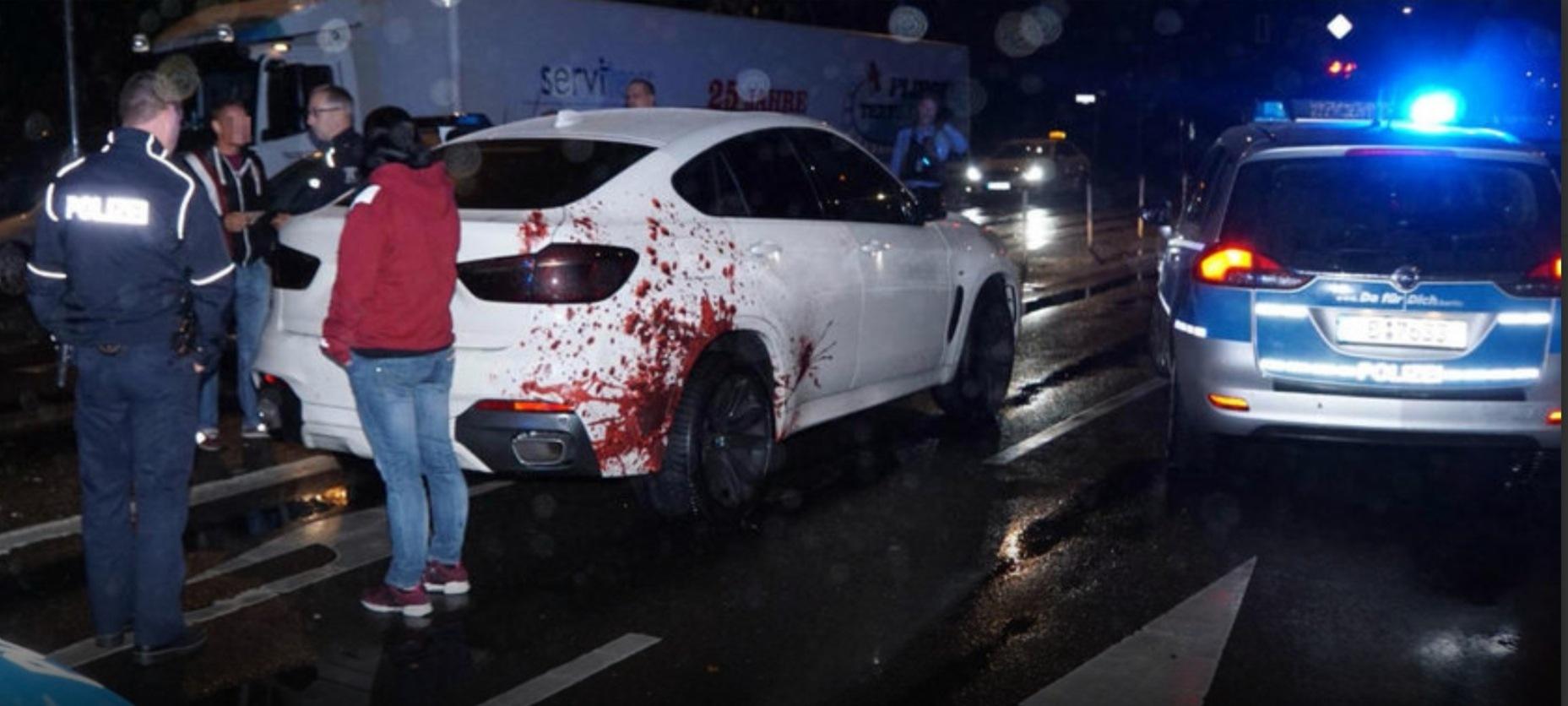 Un BMW X6 urmărit de trei echipe de poliție!