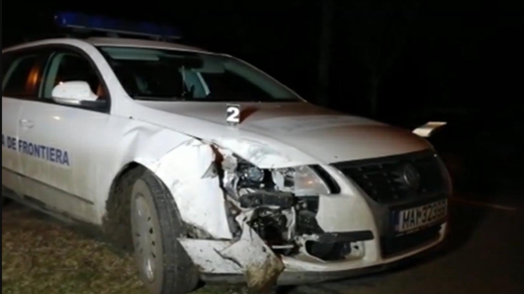 Un contrabandist de țigări a bătut un polițist de frontieră, în Timiș