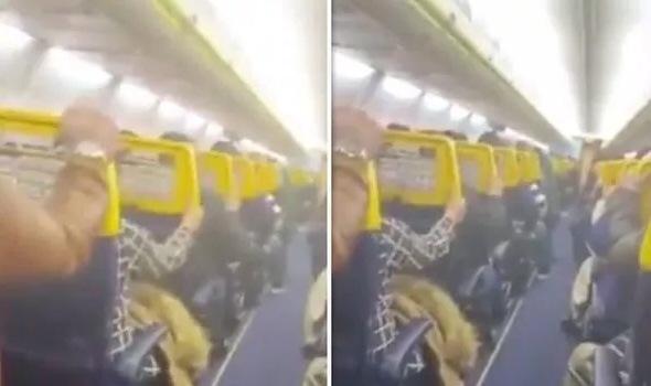 Video: Momente terifiante, pasagerii Ryanair plâng și se roagă, în timpul turbulențelor puternice