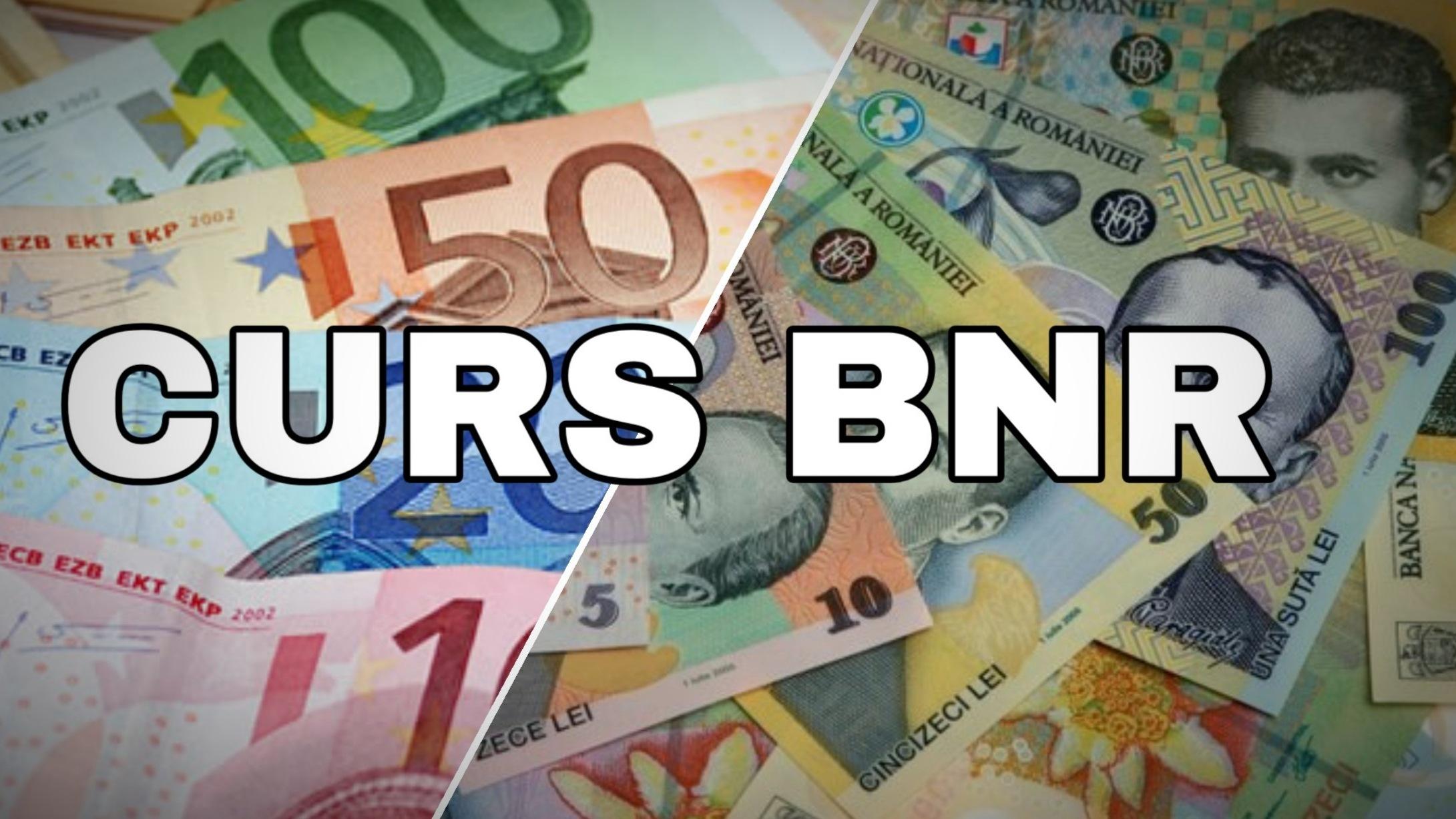 Curs BNR un nou record: Euro trece de 4,8 lei pentru prima dată în istorie