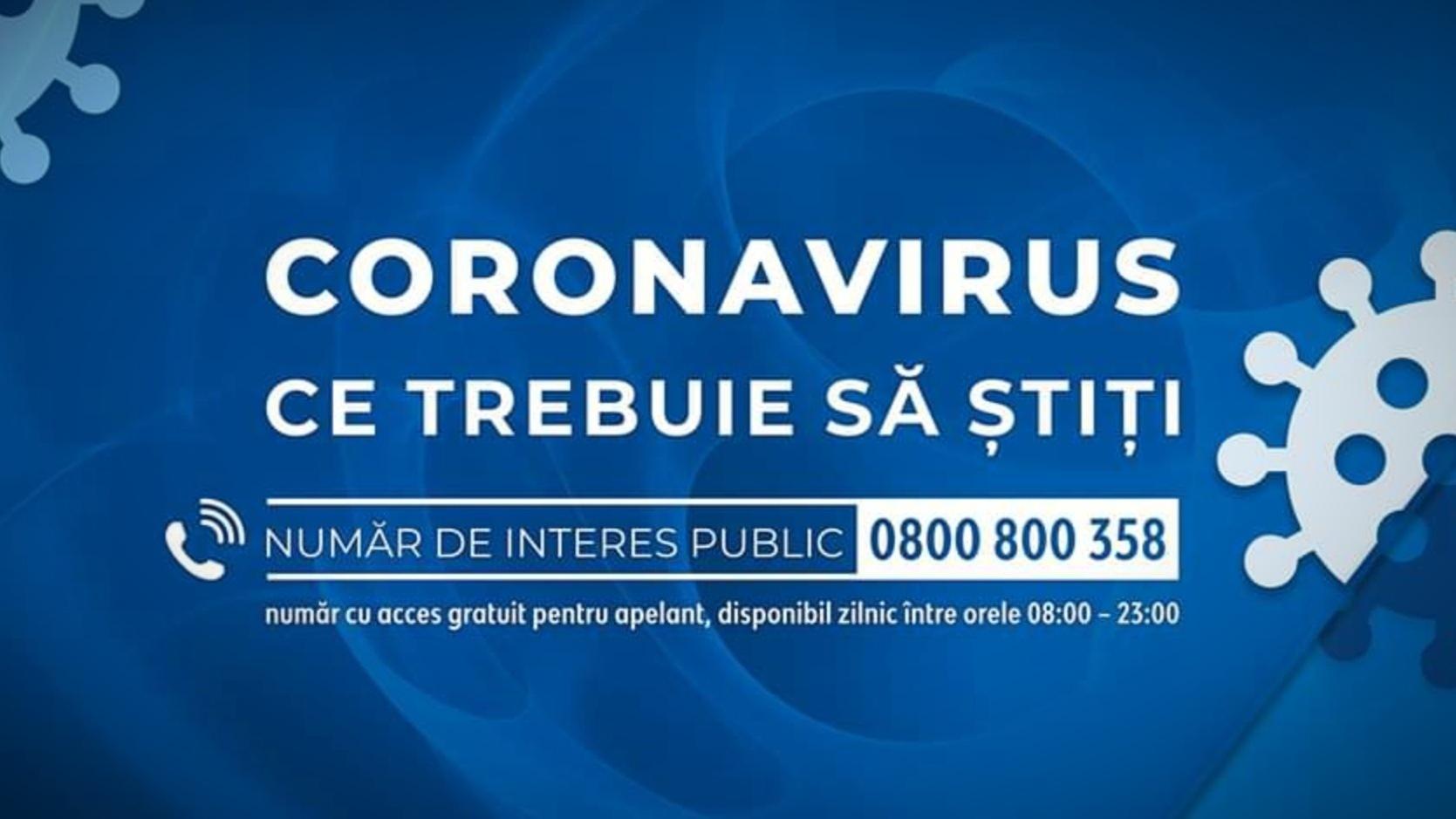 TELVERDE – Linie destinată cetățenilor care doresc informații despre situațiile legate de COVID