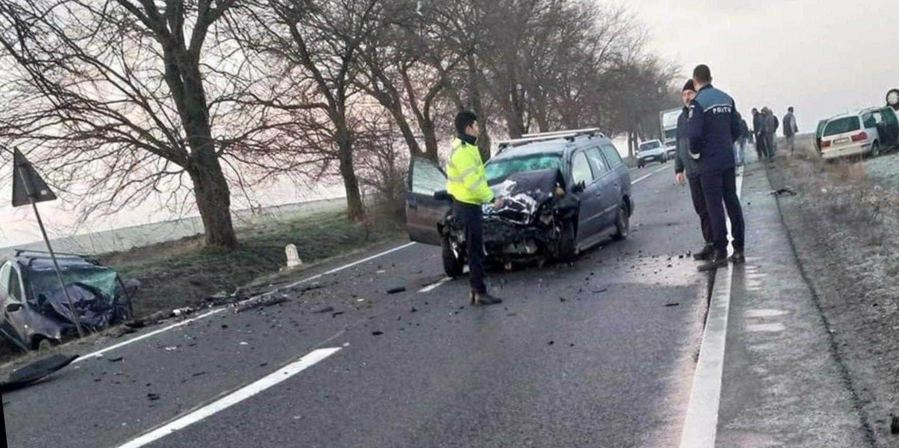 Accident mortal în Bihor! 4 autoturisme implicate, o persoana a decedat!