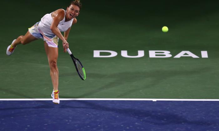 Simona Halep a câștigat finala turneului de la Dubai, după un meci spectaculos!