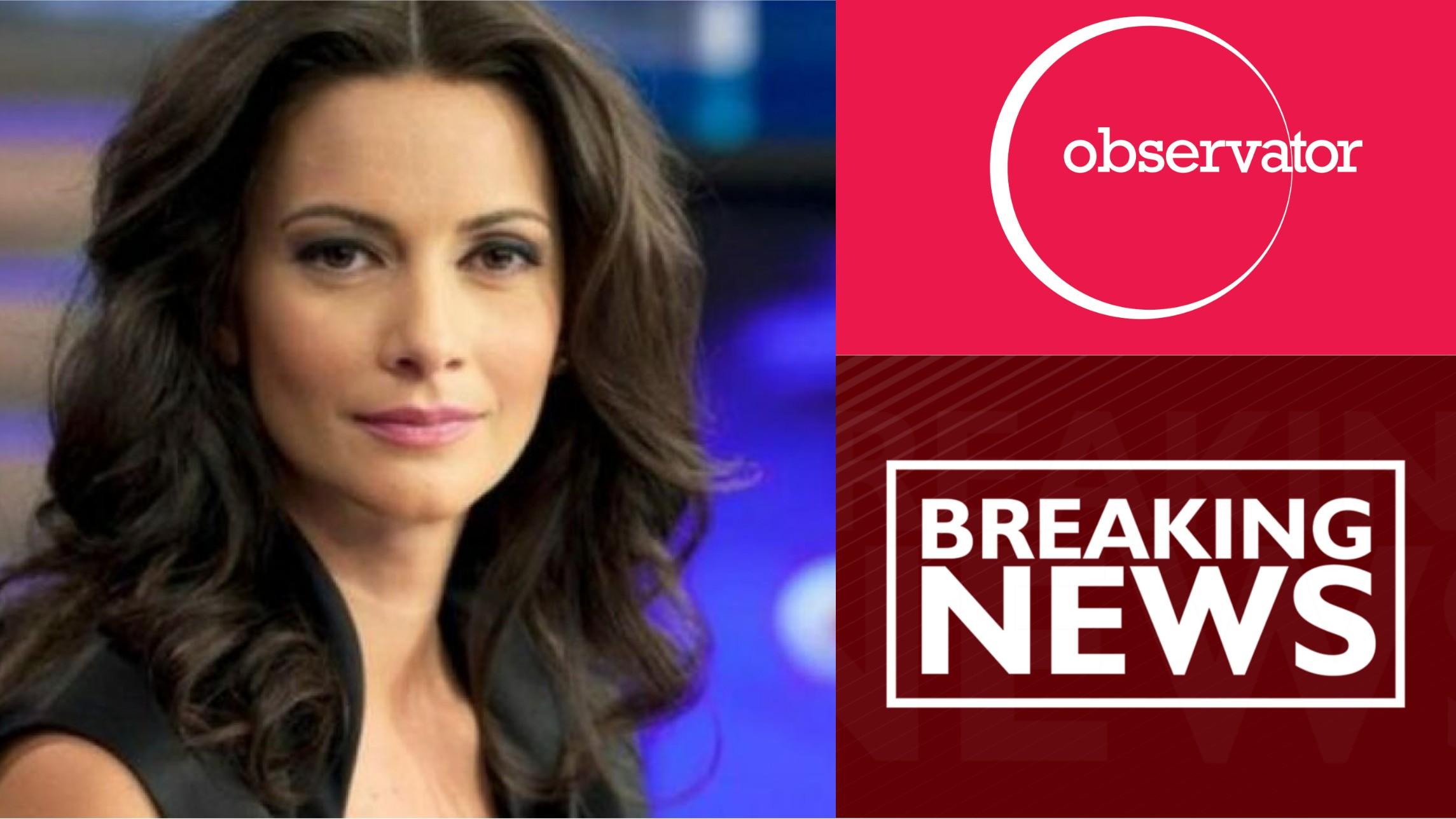 """Andreea Berecleanu părăsește """"Observatorul"""" și ANTENA 1 – """"Nu voi accepta situaţii impuse"""""""