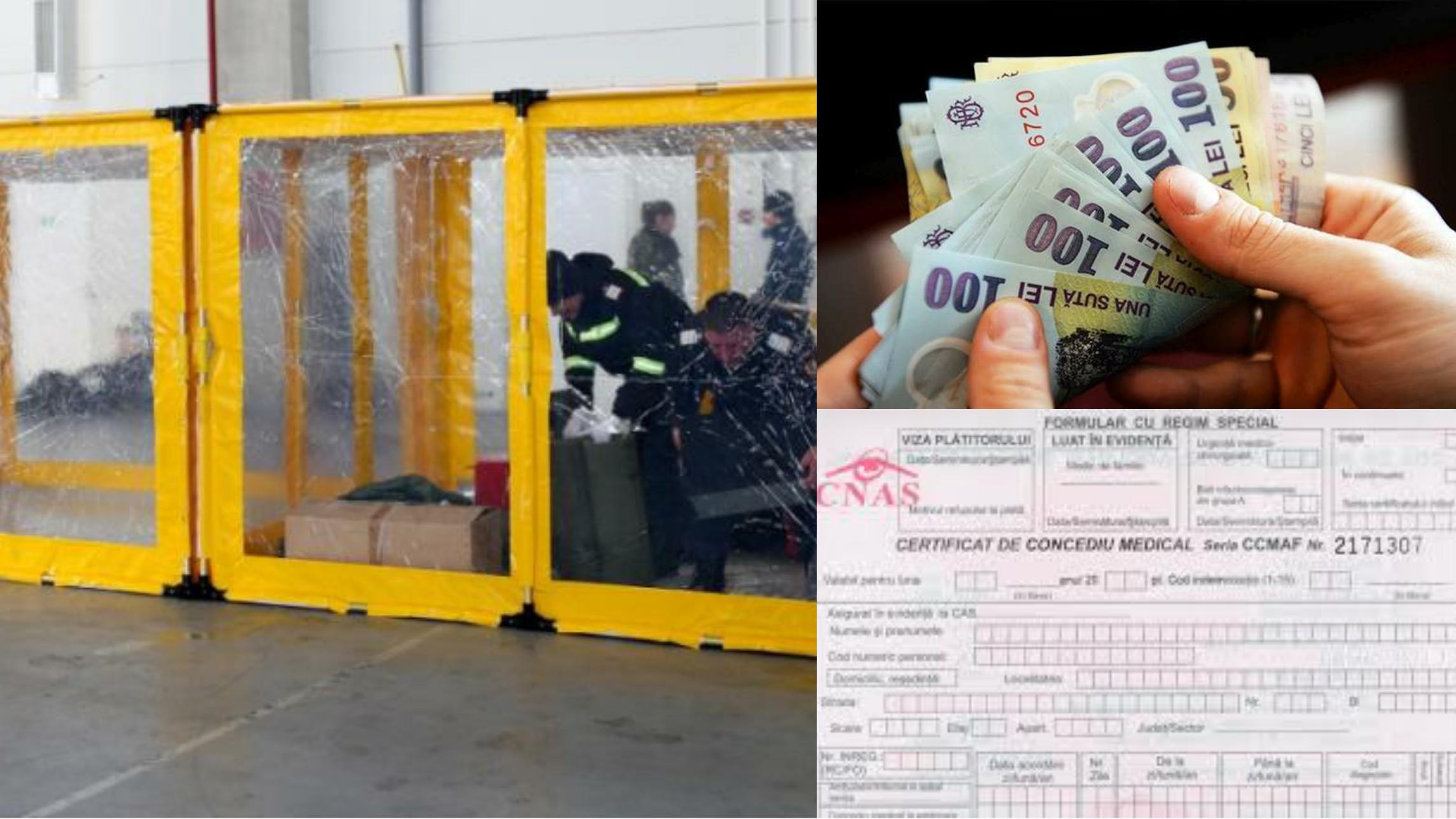 Coronavirus: Câți bani primești dacă ești angajat și ești în carantină?! Comunicat de presă CNAS cu privire la concediul medical