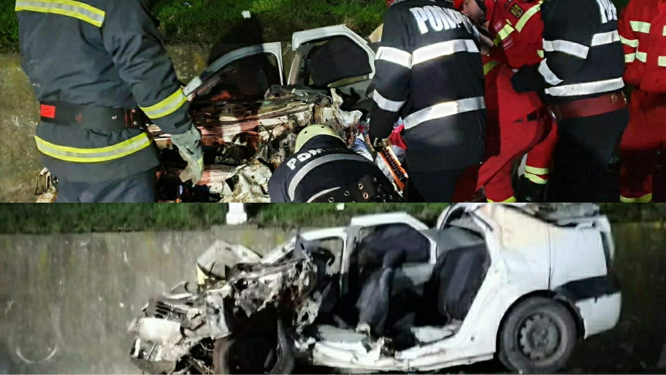 Video |  Patru tineri din Slatina, au murit pe loc, în urma unui impact violent cu un TIR, în Balș județul Olt