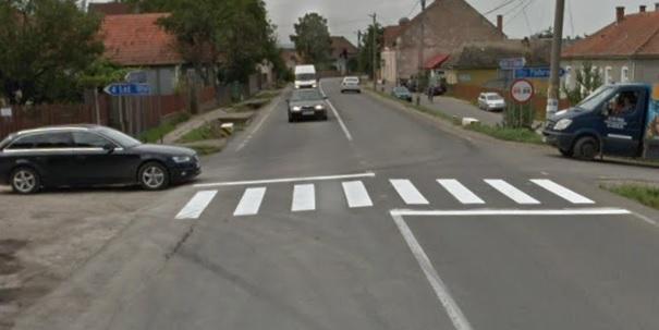 VIDEO: Imagini ȘOCANTE! Femeie accidentată pe trecerea de pietoni în Covasna!