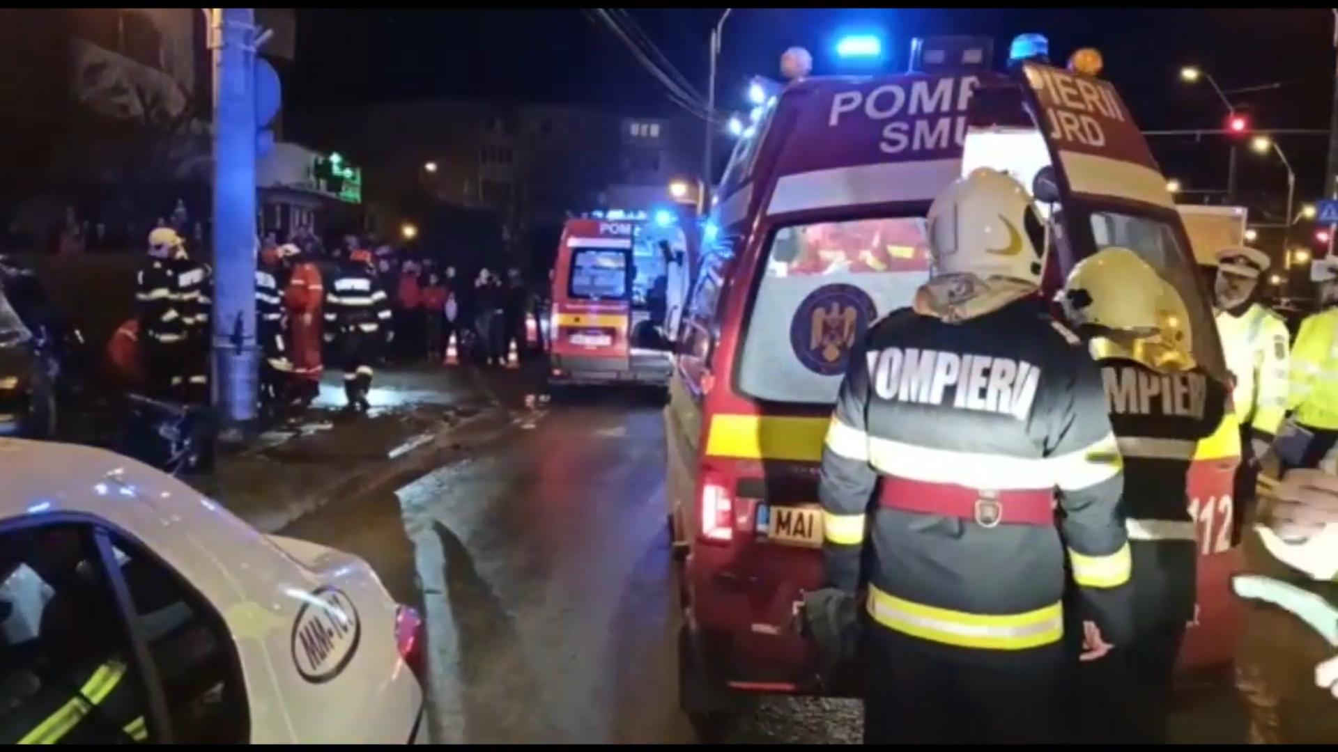 Video | Accident mortal în Baia Mare, tânăra de 23 de ani spulberată pe trotuar, șoferul vinovat a decedat