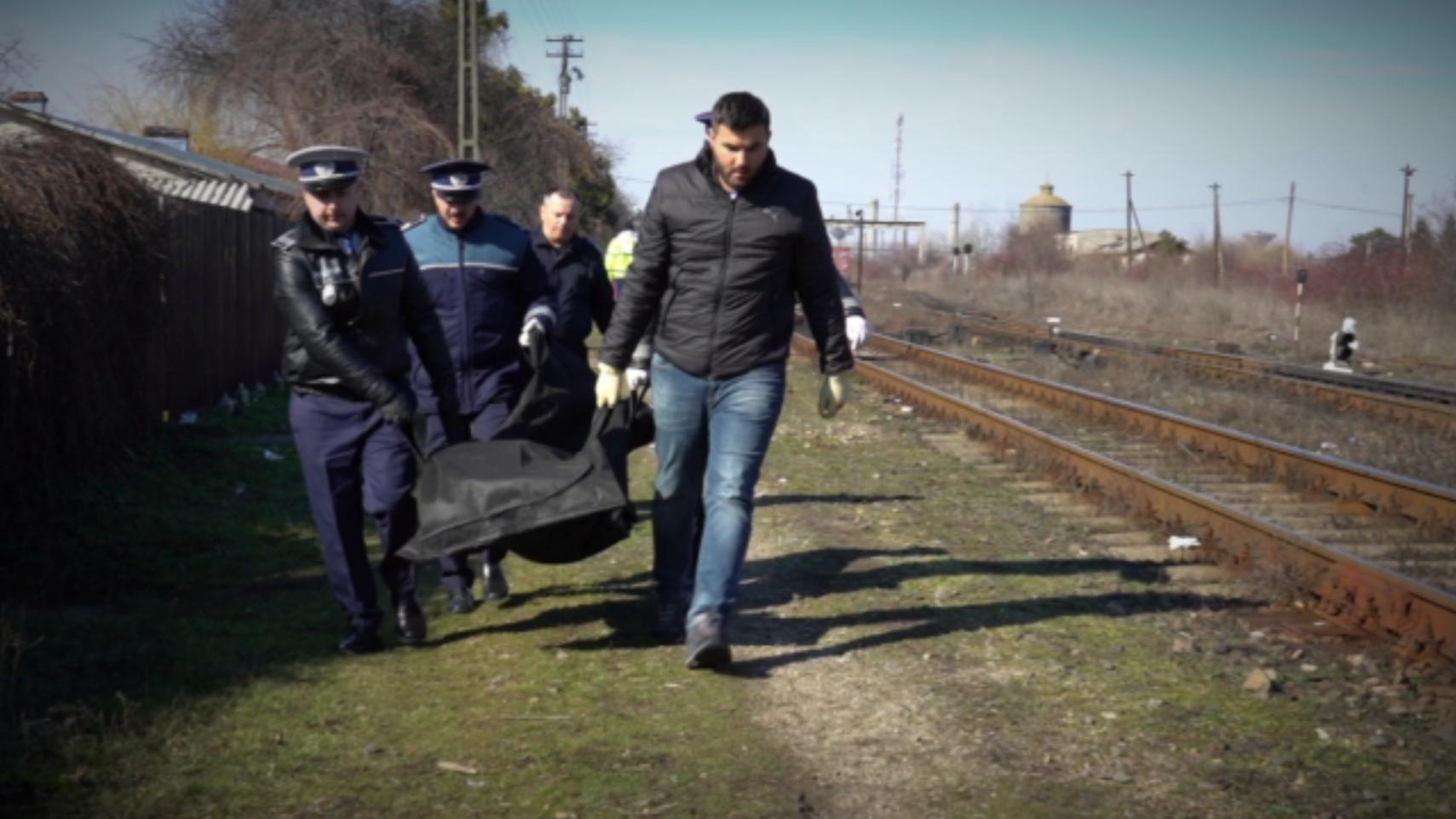 Un bărbat a murit după ce s-a aruncat în faţa trenului în apropierea staţie din Titu, județul Dâmbovița
