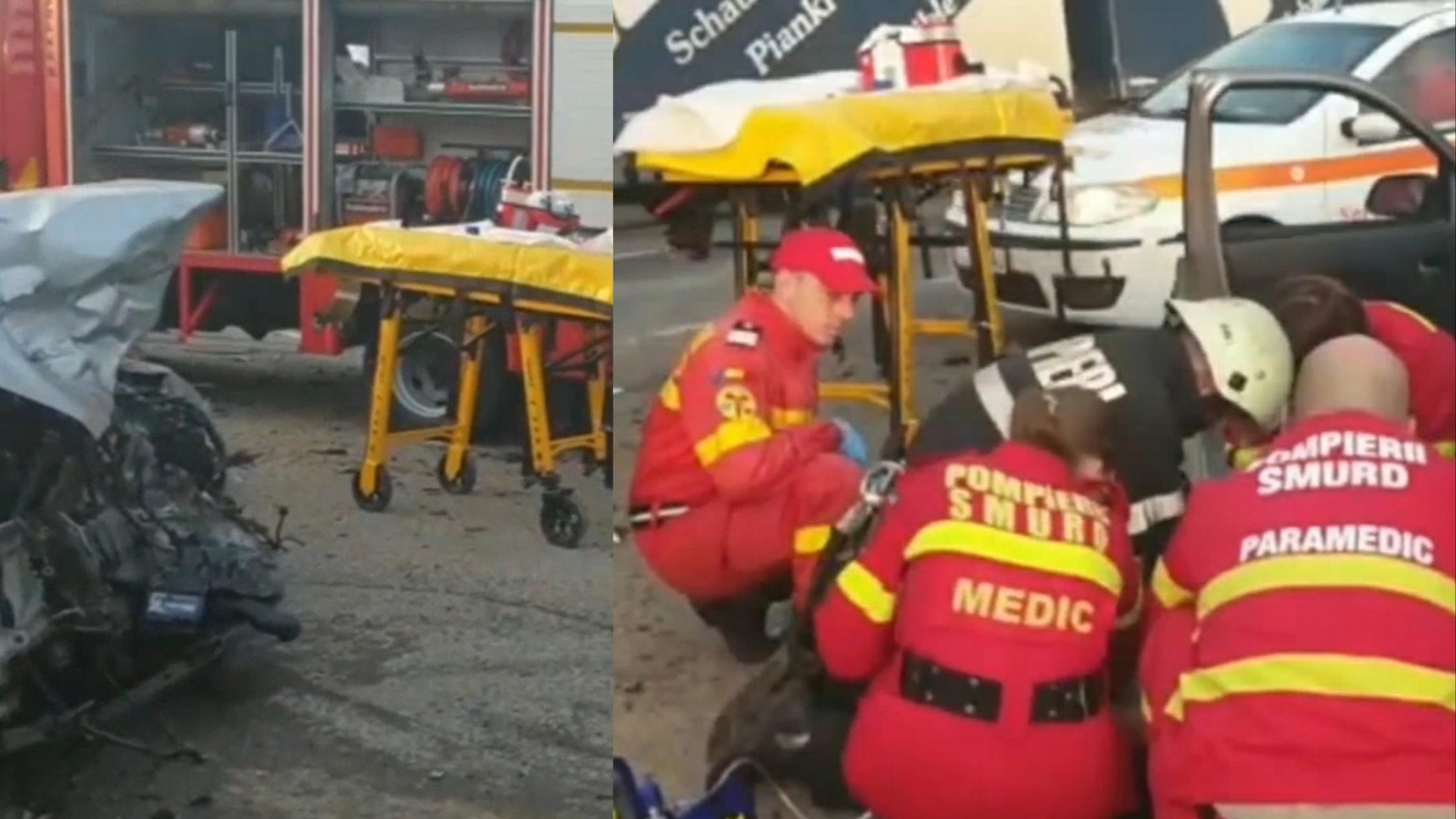 UPDATE: Accident mortal în Vaslui! 8 victime, 2 persoane decedate pe DN 2F Pușcași | Video