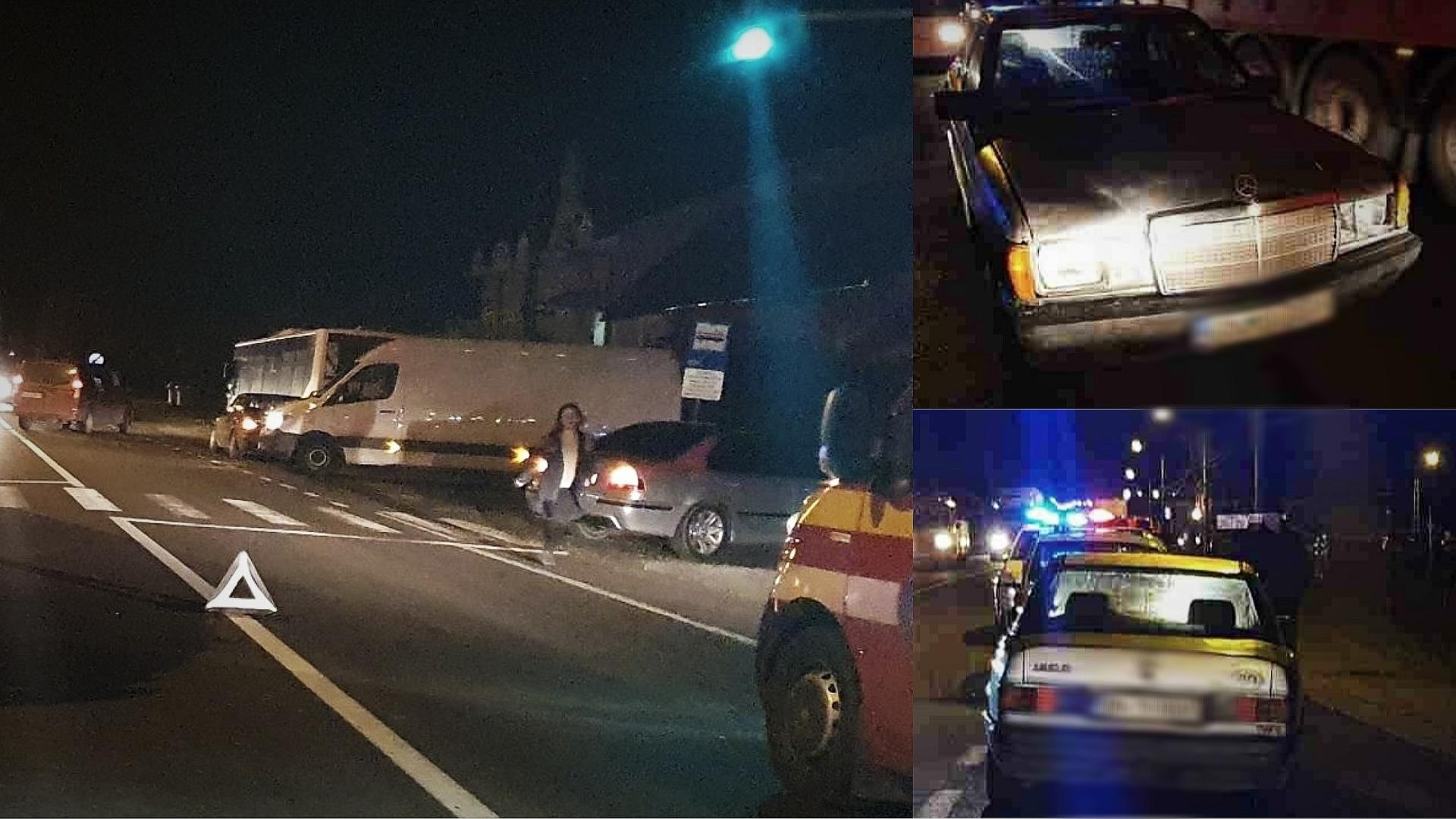 Un șofer care a trecut pe roșu, a lovit o adolescentă pe trecerea de pietoni, în județul Bistrița-Năsăud