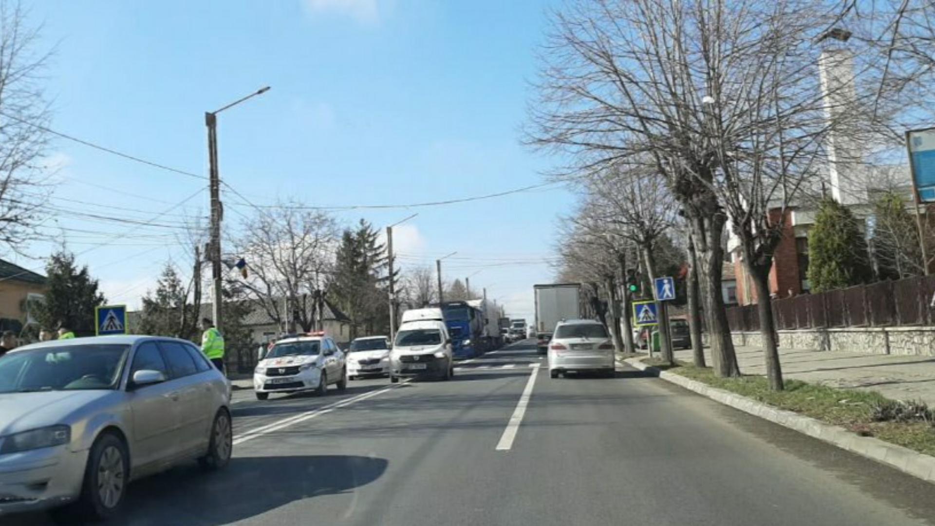 Accident mortal în Iași: femeie decapitată pe trecerea de pietoni de un TIR