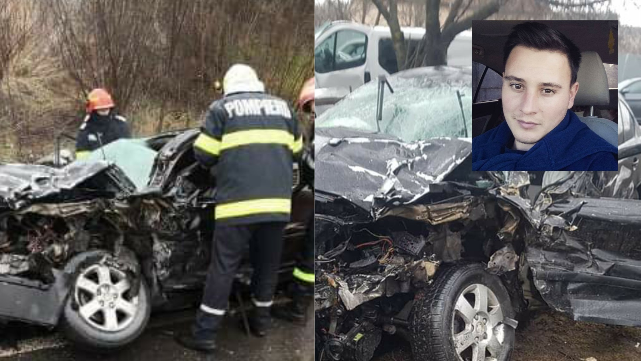 Băgat în COMĂ de un poliţist BĂUT, în urma unui accident rutier grav în județul Bacău