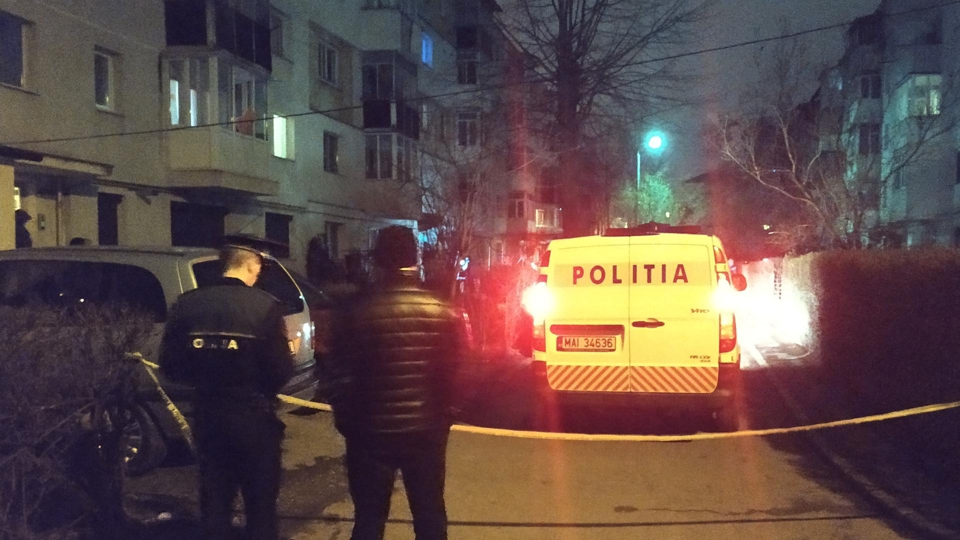 Focuri de armă în Bacău! Un bărbat a fost împușcat în cap pe strada Alecu Russo | Foto/Video