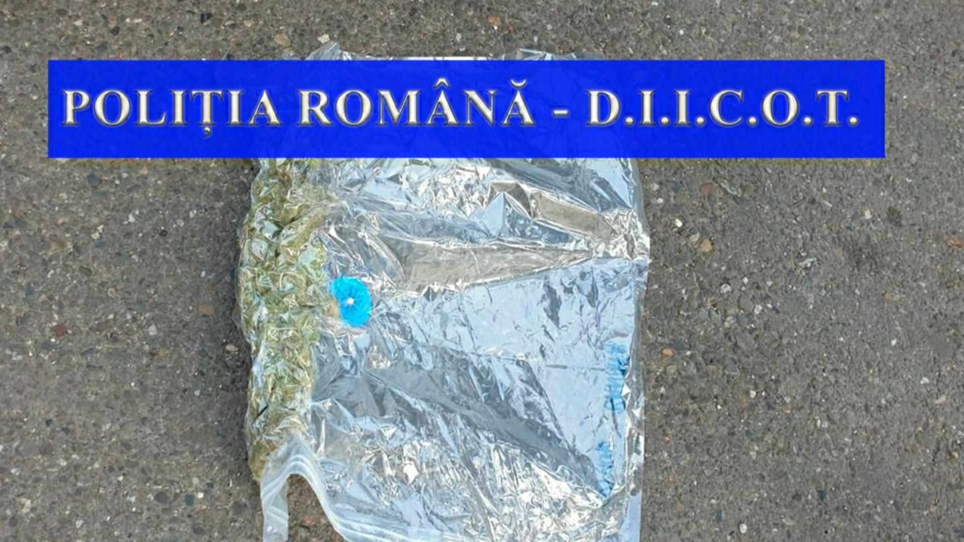 DIICOT: Droguri găsite într-o mașină ce transporta colete din Italia către Bacău