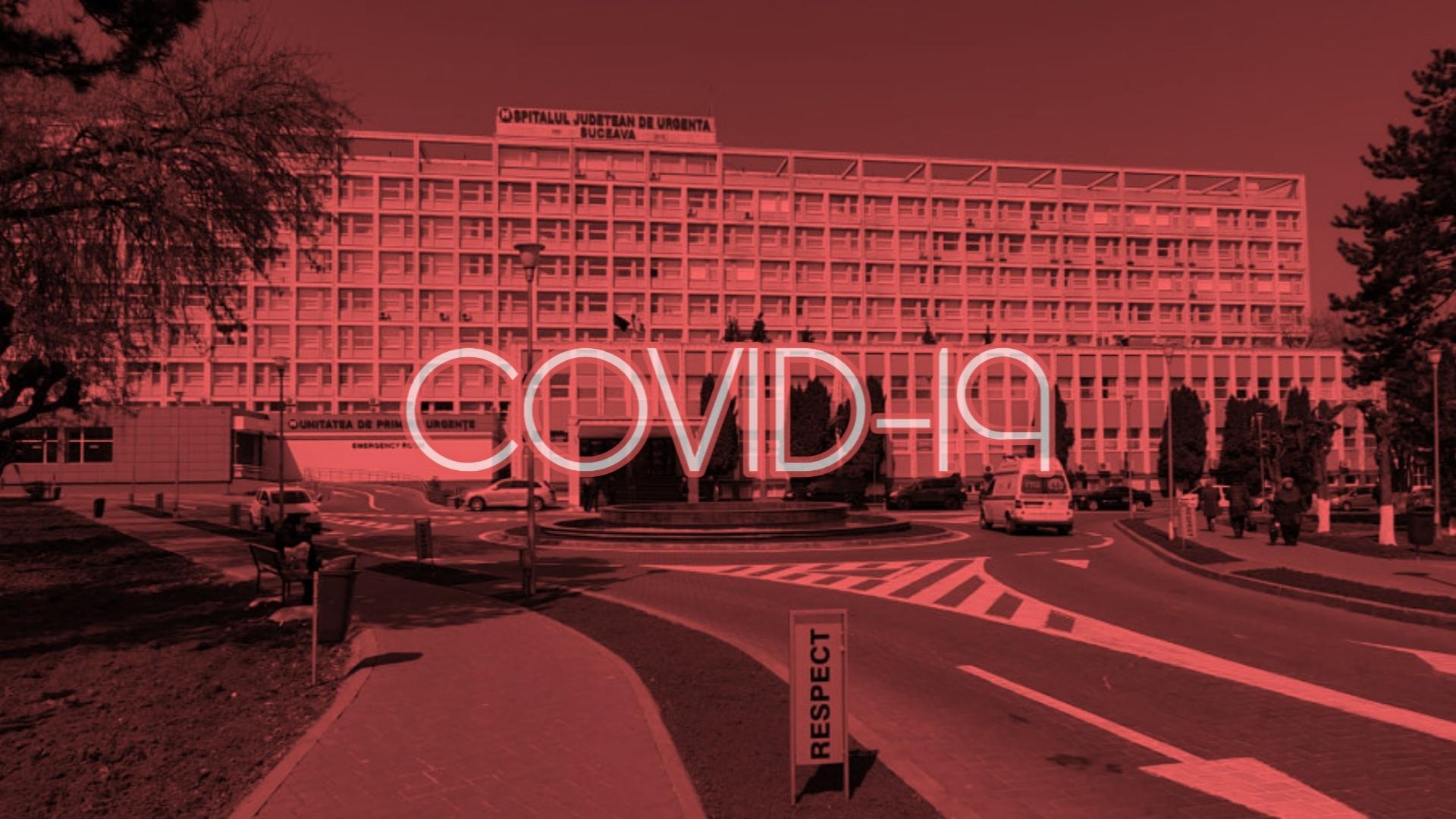HAOS la Spitalul Județean din Suceava, unde 72 de cadre medicale au fost infectate cu coronavirus