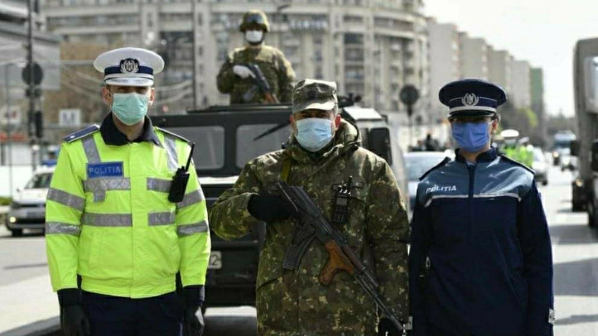 10.000 de militari au ieșit pe străzi. De ce aceștia sunt echipați în ținută de luptă