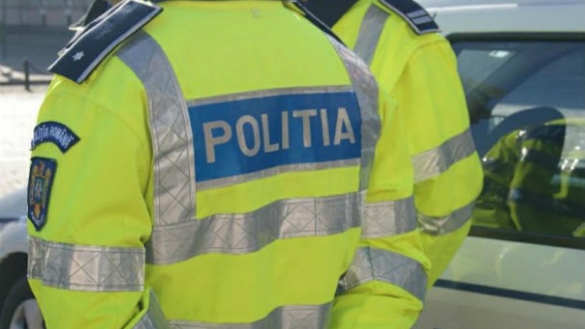 Polițist lovit cu pumnul în față de un bărbat căruia îi ceruse declarația pe proprie răspundere