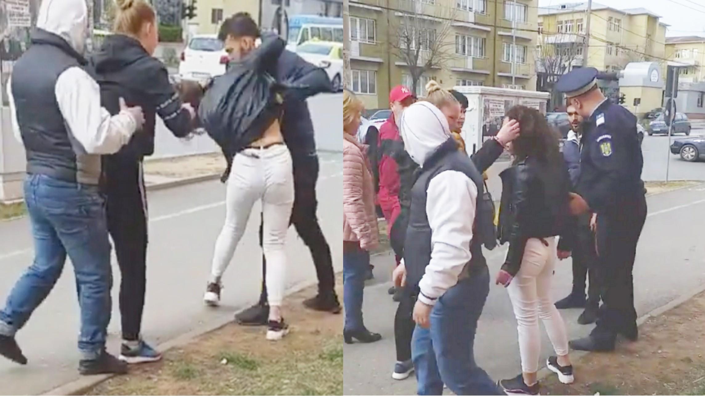 Video | O tânără din Târgoviște, a fost bătută în stradă de fostul iubit