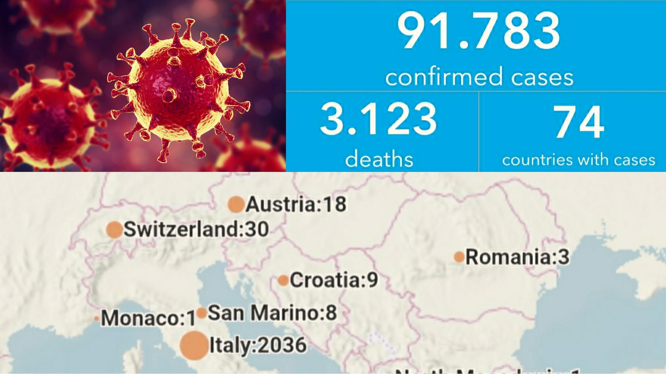 Statisticile infecțiilor cu COVID-19, la nivel global! Hartă LIVE coronavirus!