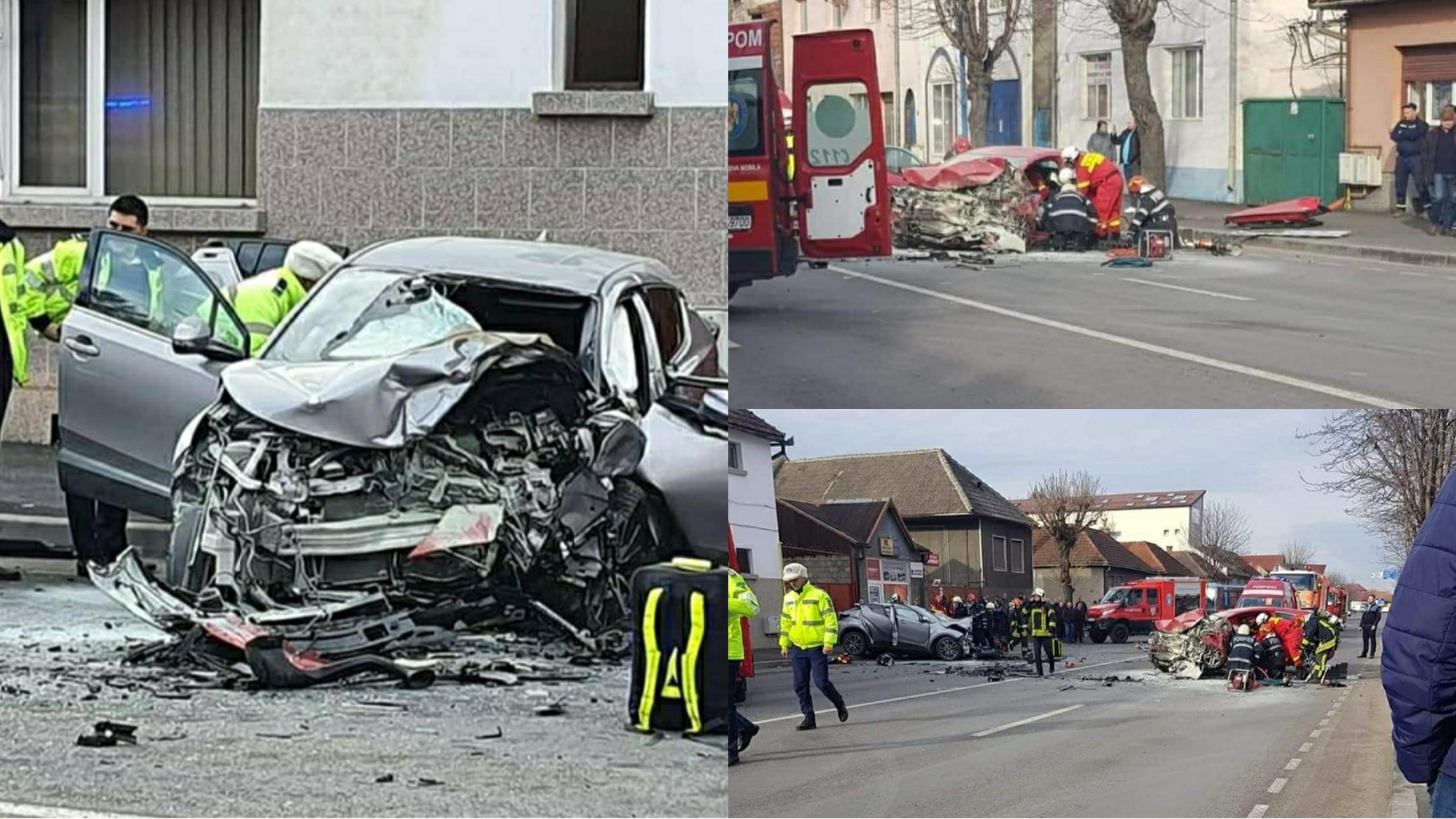 Video | Accident mortal în Brașov, un bărbat a murit și o tânăra este grav rănită