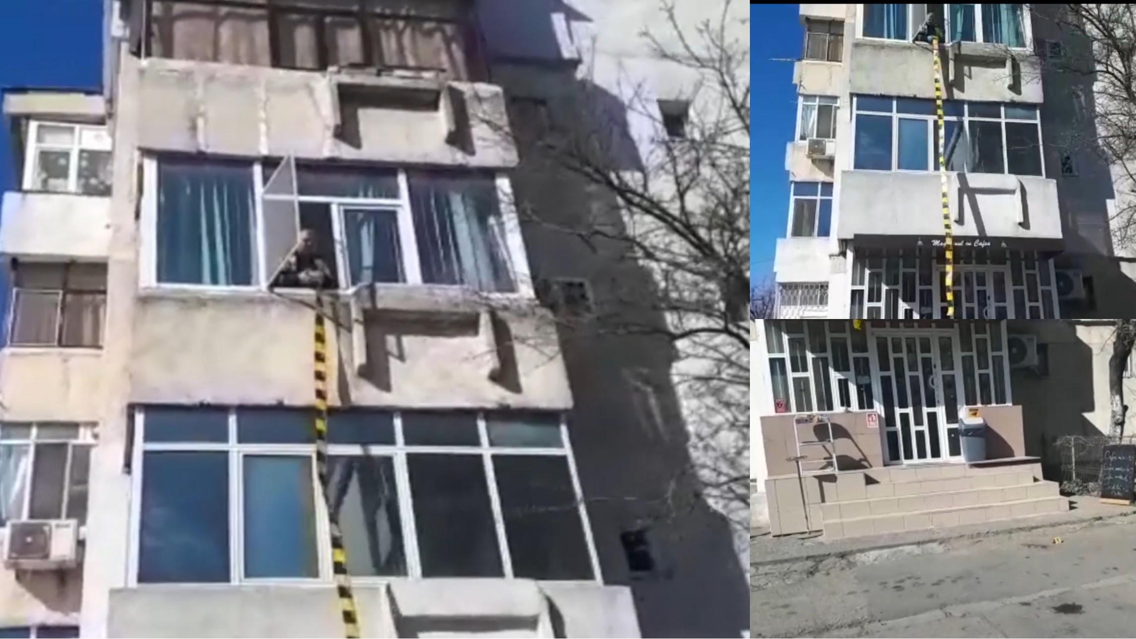 Un băiețel de 2 ani a căzut de la etajul 2, la Constanţa
