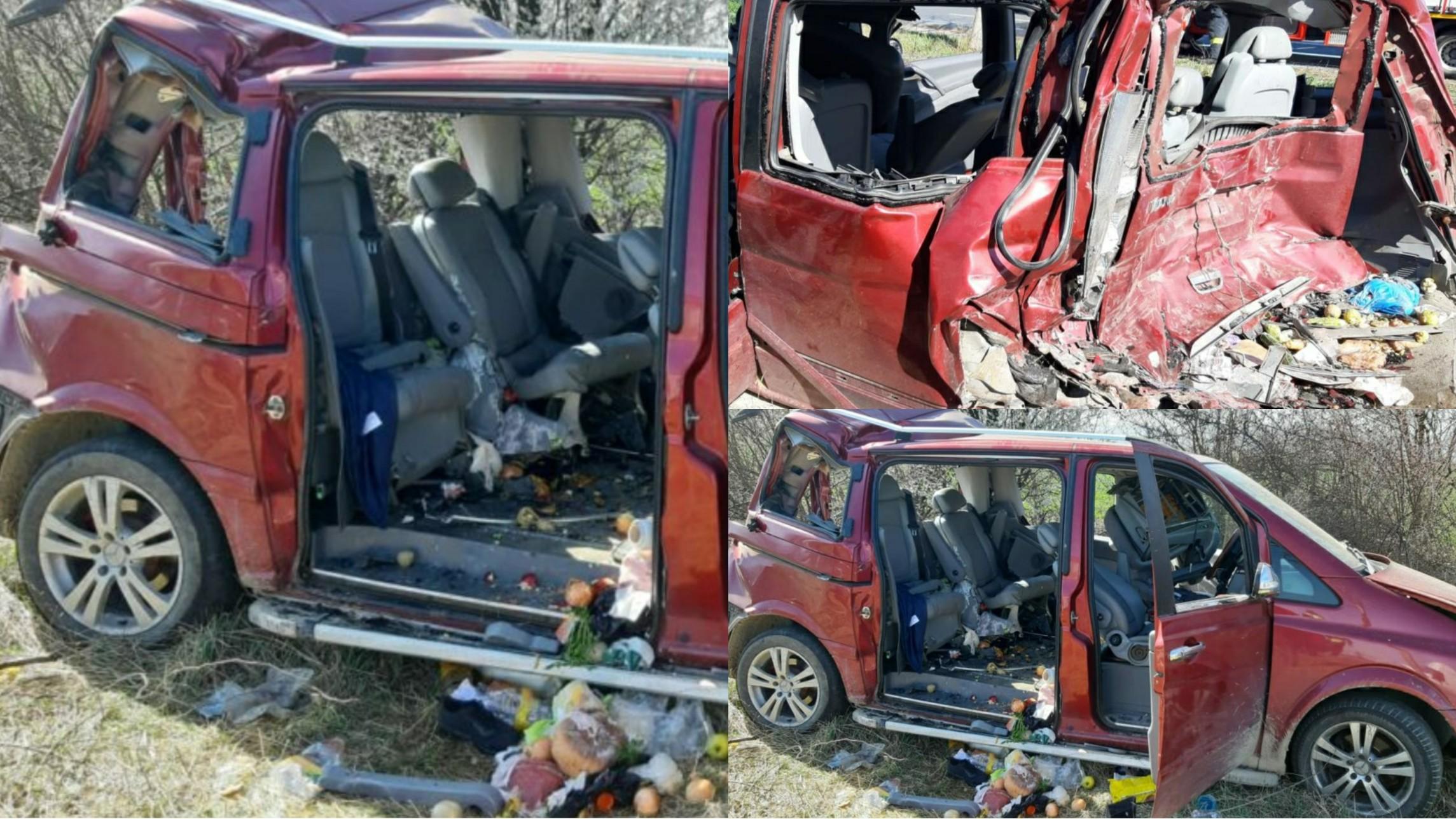 Accident mortal pe E85 în Vrancea, o femeie a murit și două femei sunt rănite