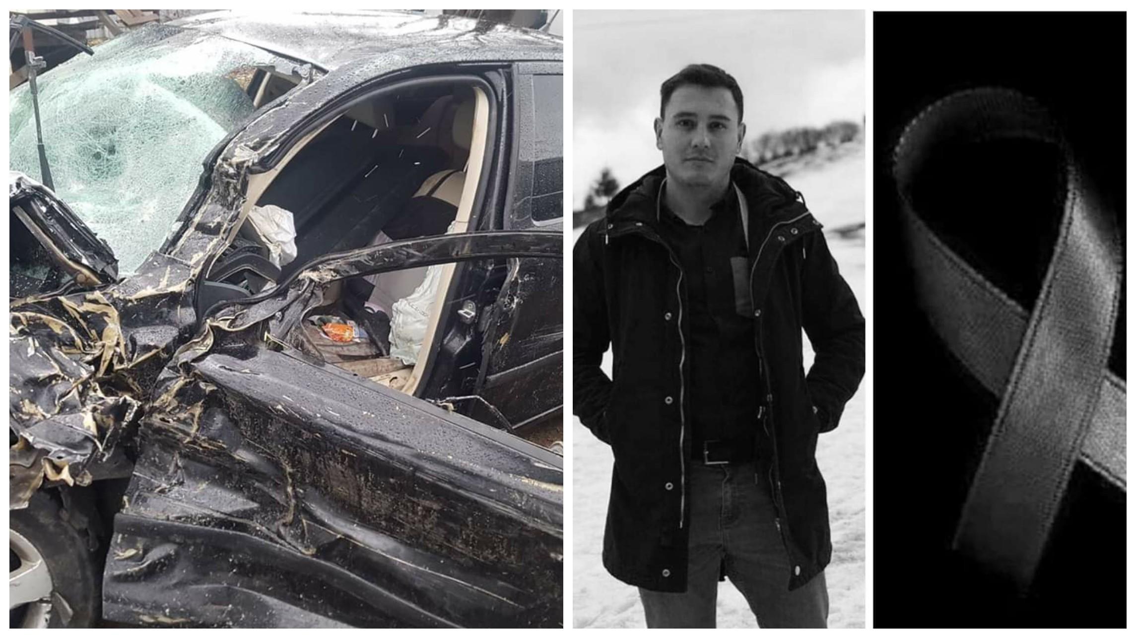 A murit Andrei, tânărul de 29 ani, acesta era în comă la Bacău, în urma unui accident rutier  provocat de un șofer băut