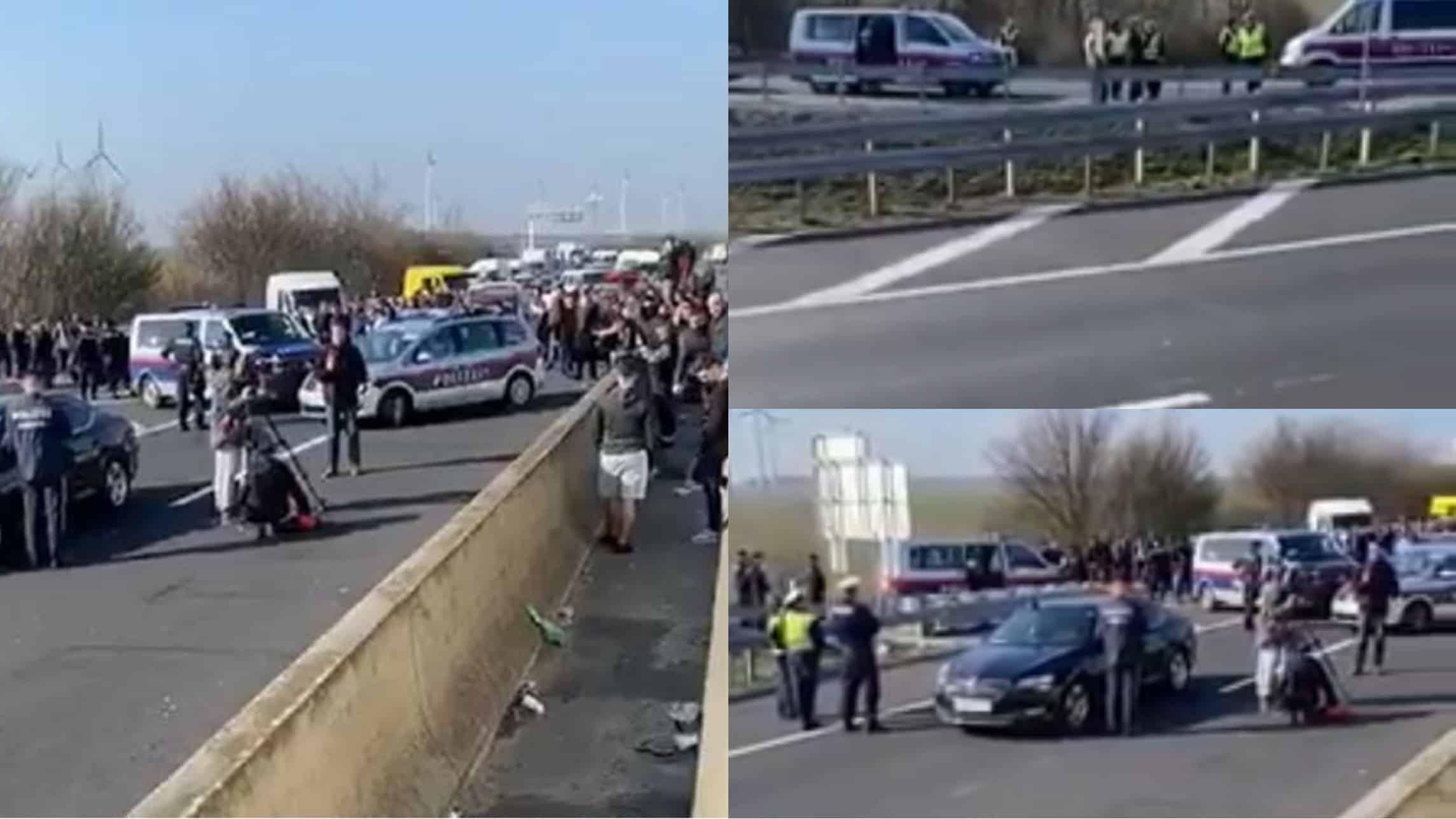 Mii de români sunt din nou blocați la granița dintre Ungaria și Austria!