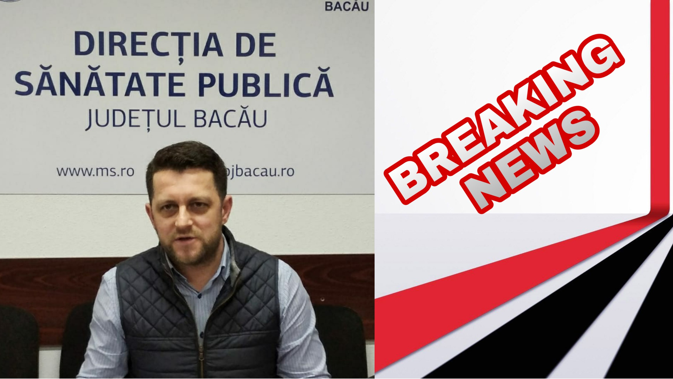 Directorul DSP Bacău și-a depus DEMISIA: demisia sa nu este o renuntare, ci mai degrabă un semnal de ALARMĂ