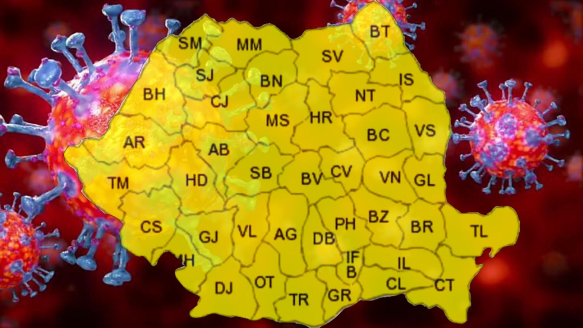 """România devine """"zonă galbenă"""" COVID-19, cu peste 500 de persoane infectate"""