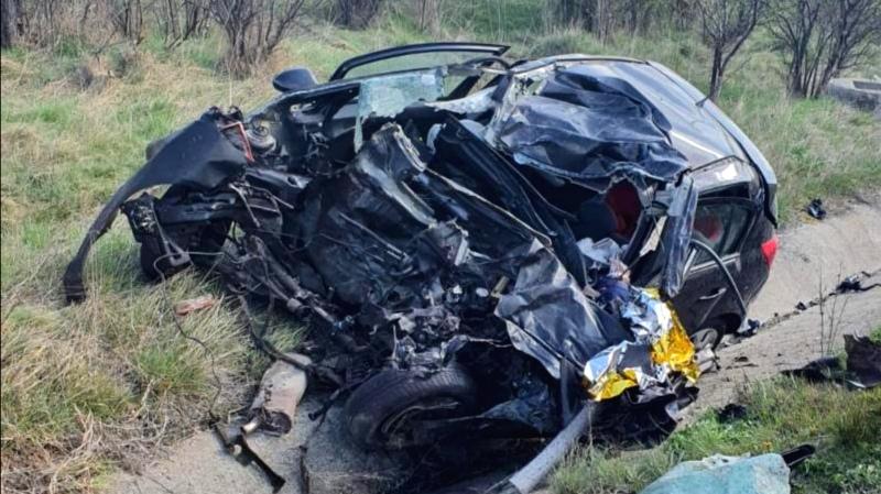Accident mortal Caraș-Severin: Un bărbat a murit, după impactul între un autoturism și un TIR