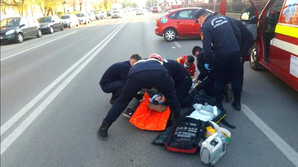 Bacău: Bărbat lovit pe trecerea de pietoni de un șofer de 37 de ani. Șoferul era băut