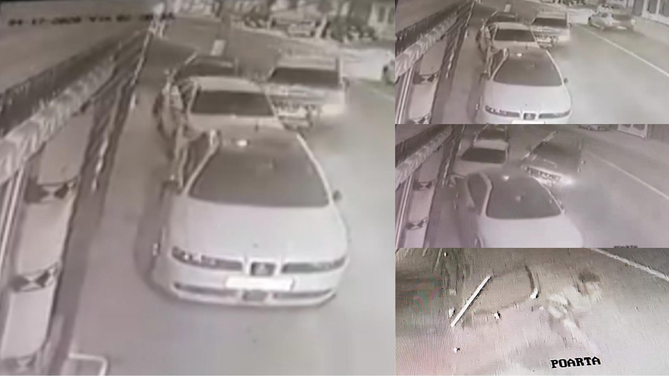 Video | A furat o mașină, a lovit 3 mașini și a fugit de la locul accidentului