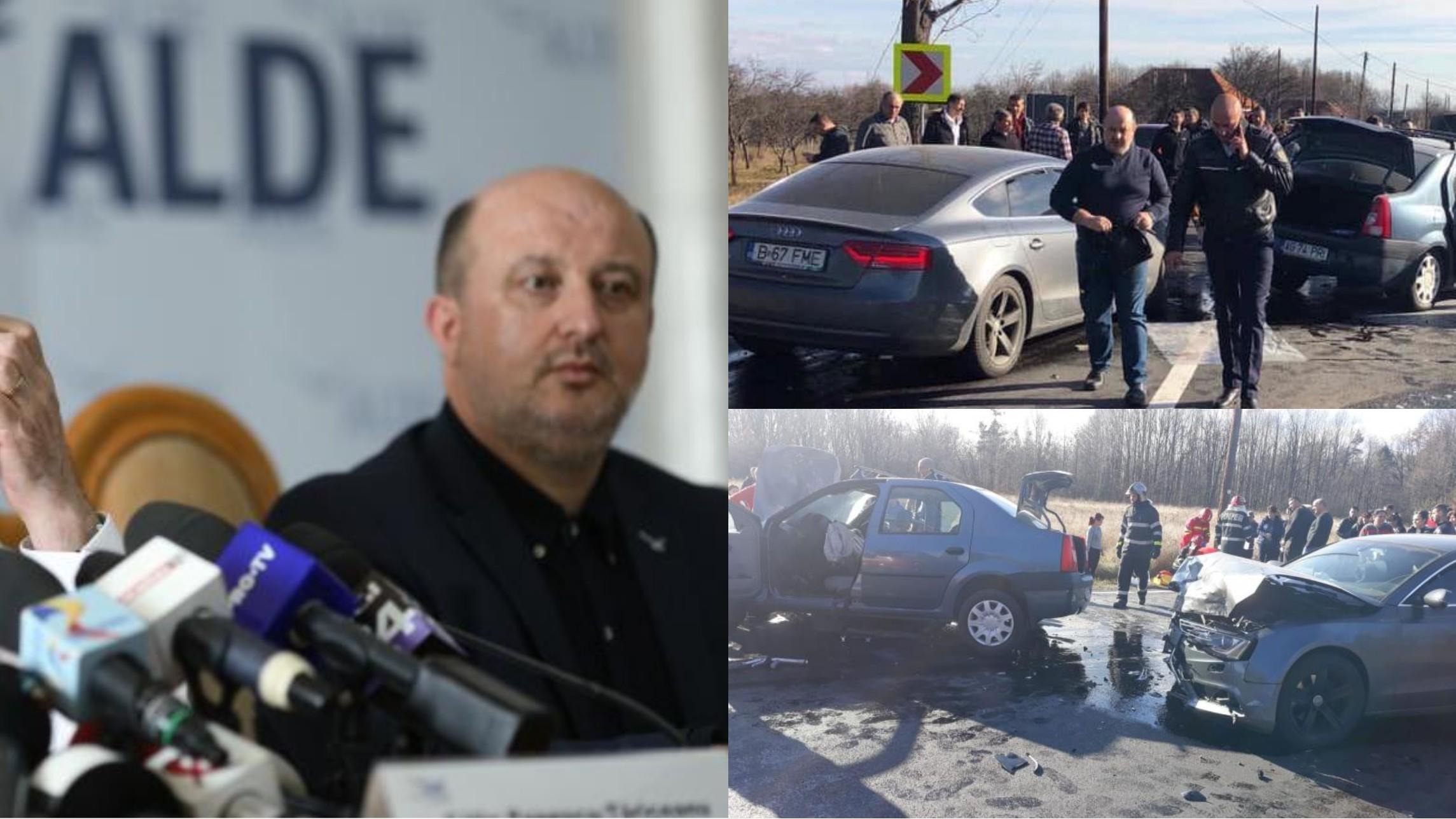 Decizie șoc a magistraților în accidentul din Argeș al fostului ministru Daniel Chiţoiu: Mortul e de vină