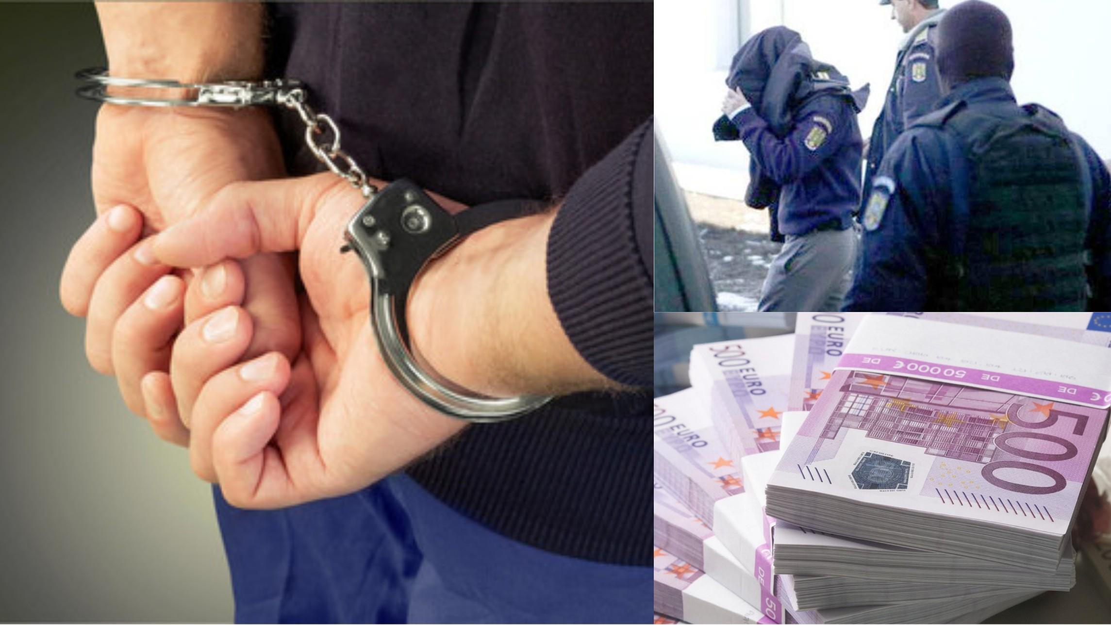 Polițist reținut de DNA, după ce a cerut mită peste 1 milion de euro
